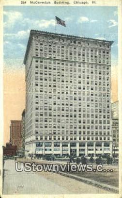 McCormick Bldg - Chicago, Illinois IL Postcard