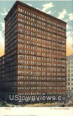 Heyworth Bldg - Chicago, Illinois IL Postcard