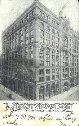 The Rookery - Chicago, Illinois IL Postcard