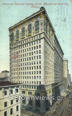 American Trust & Savings Bank - Chicago, Illinois IL Postcard