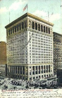 Commercial National Bank Bldg - Chicago, Illinois IL Postcard