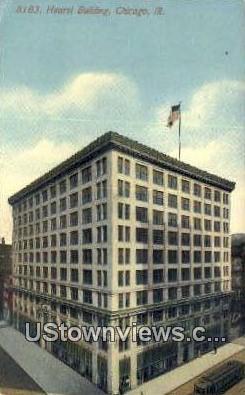 Hearst Bldg - Chicago, Illinois IL Postcard