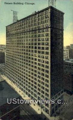 Heisen Bldg - Chicago, Illinois IL Postcard