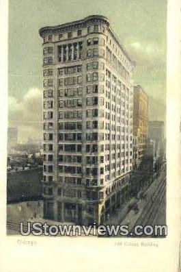 Old Colony Bldg - Chicago, Illinois IL Postcard
