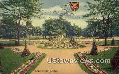 Humboldt Park - Chicago, Illinois IL Postcard