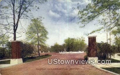 Gateway, Humboldt Park - Chicago, Illinois IL Postcard