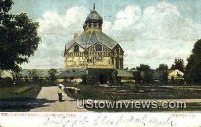 The Conservatory - Chicago, Illinois IL Postcard
