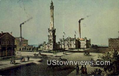Chicago Historical Society - Illinois IL Postcard
