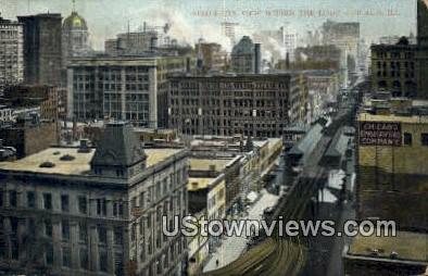 The Loop - Chicago, Illinois IL Postcard