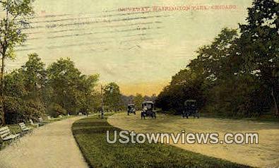 Washington Park - Chicago, Illinois IL Postcard