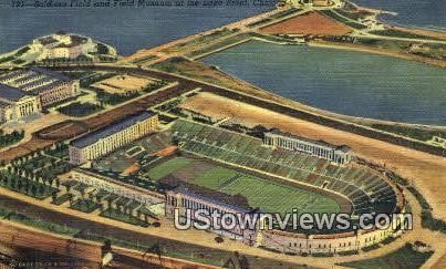 Soldier's Field - Chicago, Illinois IL Postcard