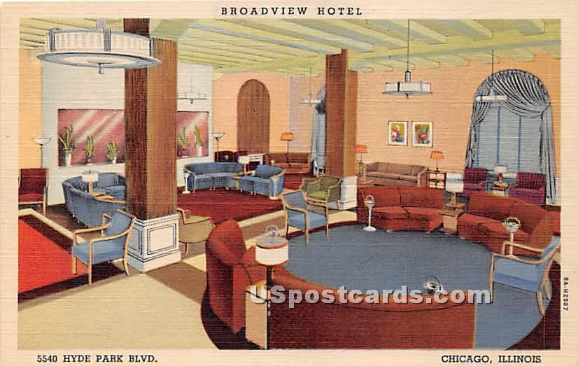 Broadview Hotel - Chicago, Illinois IL Postcard