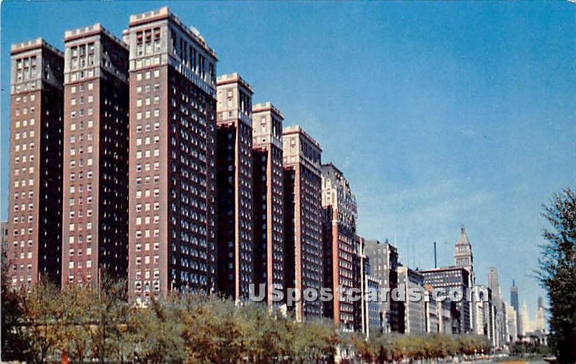 Conrad Hilton Hotel - Chicago, Illinois IL Postcard