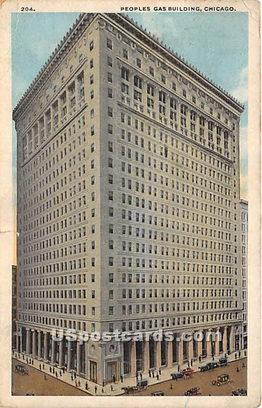 Peoples Gas Building - Chicago, Illinois IL Postcard