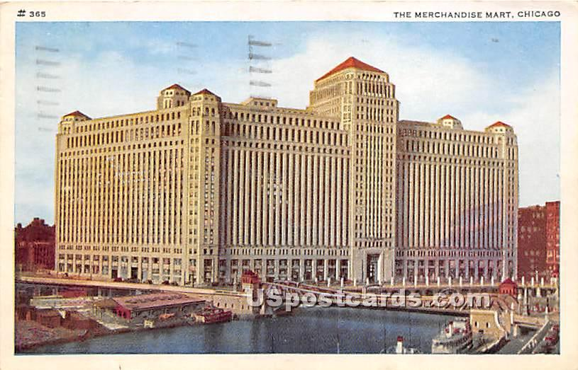 Merchandise Mart - Chicago, Illinois IL Postcard