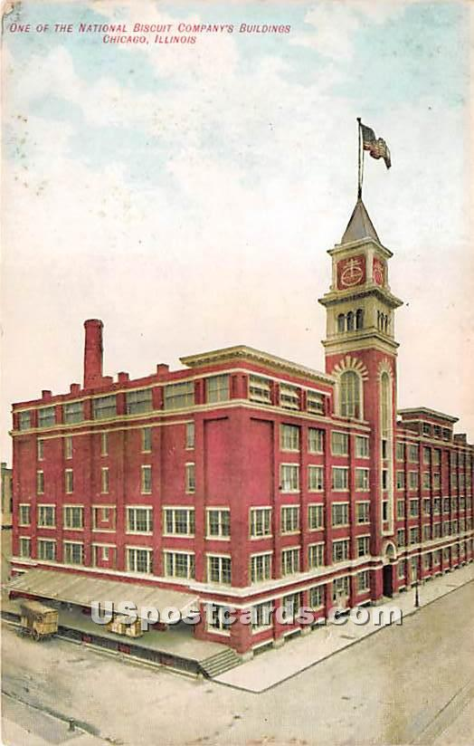 National Biscuit Company's Building - Chicago, Illinois IL Postcard