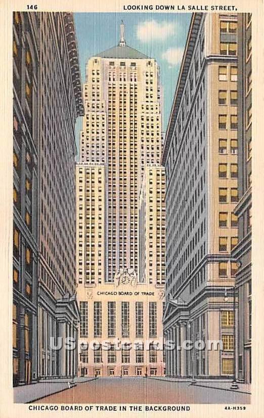 Chicago Beach Hotel - Illinois IL Postcard