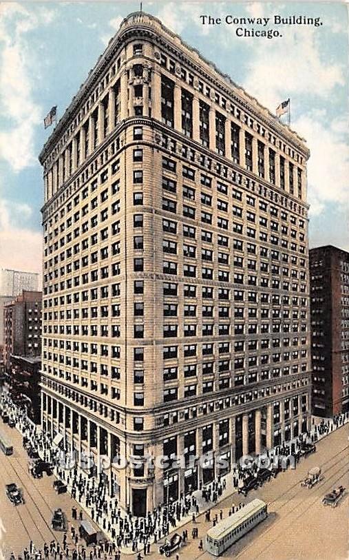 Conway Building - Chicago, Illinois IL Postcard