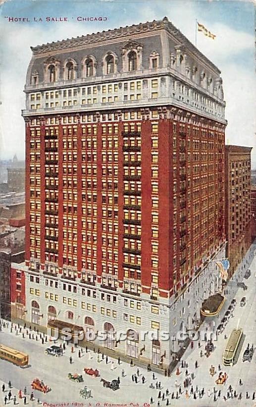 Hotel La Salle - Chicago, Illinois IL Postcard