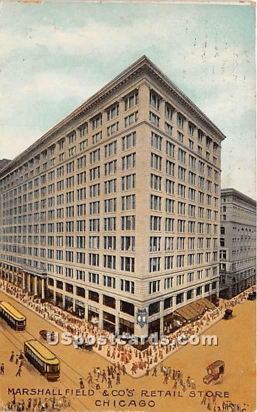 Marshall Field & Company, Retail - Chicago, Illinois IL Postcard