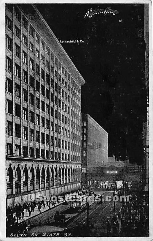 Rothschild & Co - Chicago, Illinois IL Postcard