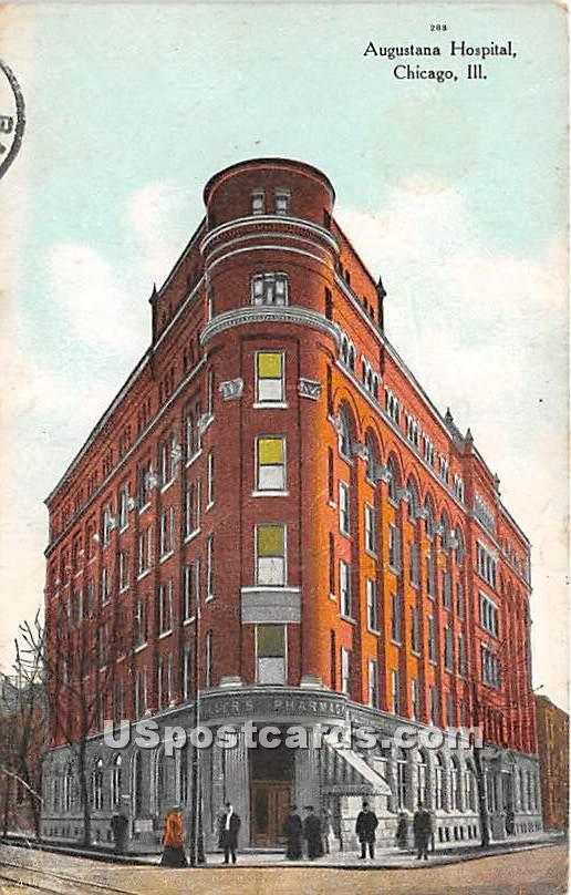 Augustana Hospital - Chicago, Illinois IL Postcard