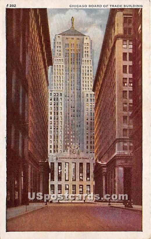 Chicago Board of Trade Building - Illinois IL Postcard