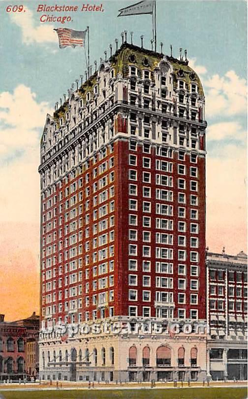 Blackstone Hotel - Chicago, Illinois IL Postcard