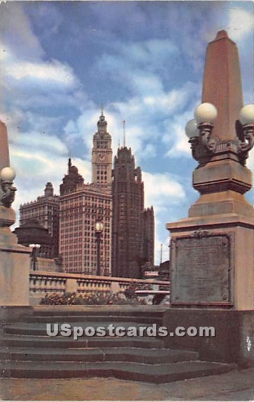 Wrigley Building - Chicago, Illinois IL Postcard