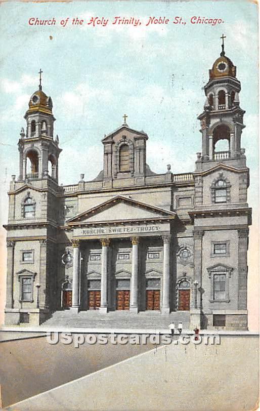 Church of the Holy Trinity - Chicago, Illinois IL Postcard
