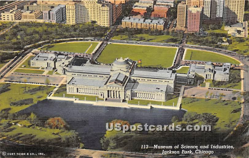 Museum of Science & Industries - Chicago, Illinois IL Postcard