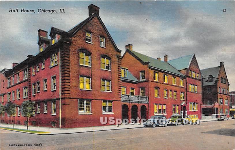 Hull House - Chicago, Illinois IL Postcard
