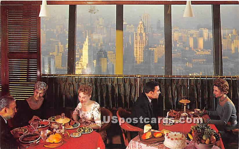 Stouffer's Top of the Rock - Chicago, Illinois IL Postcard