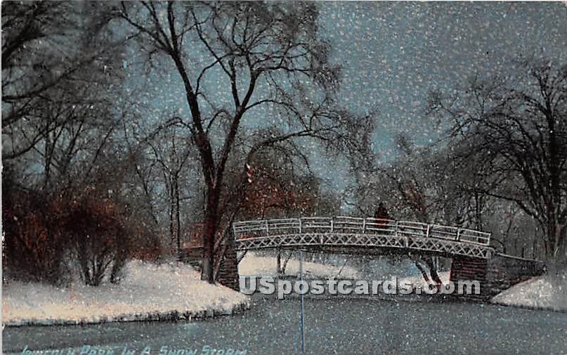 Lincoln Park - Chicago, Illinois IL Postcard