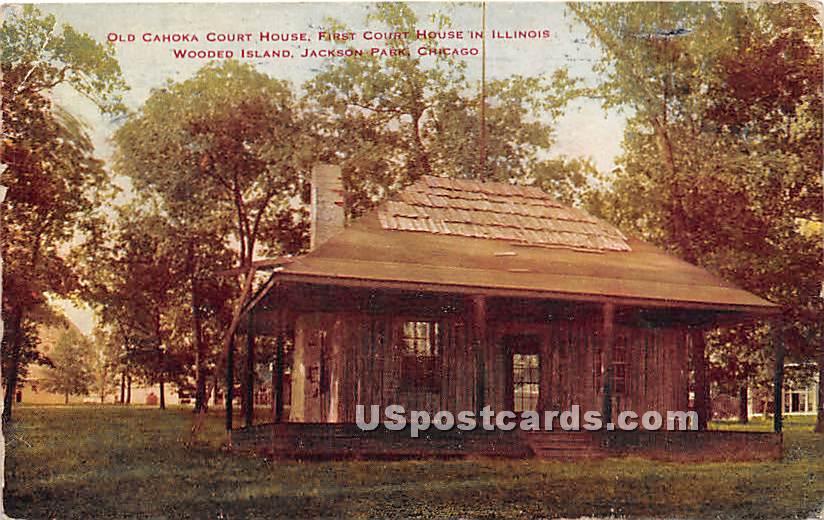 Wooded Island, Jackson Park - Chicago, Illinois IL Postcard