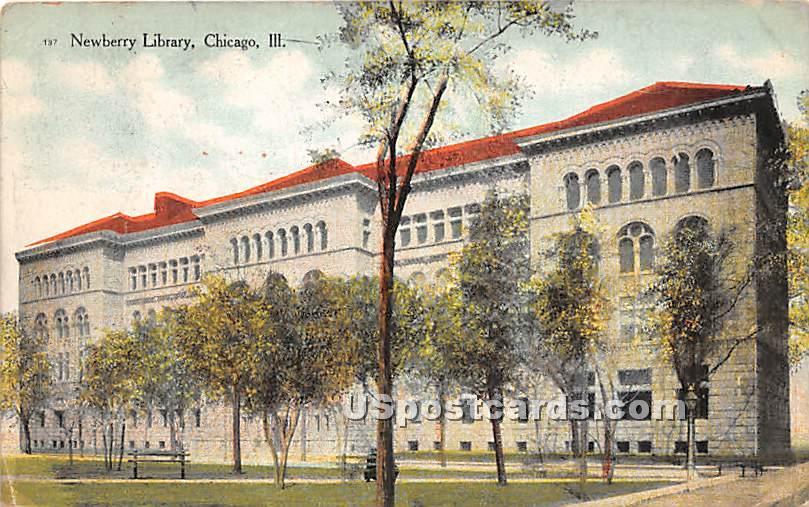 Newberry Library - Chicago, Illinois IL Postcard
