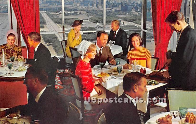 La Town Cafª Francis - Chicago, Illinois IL Postcard