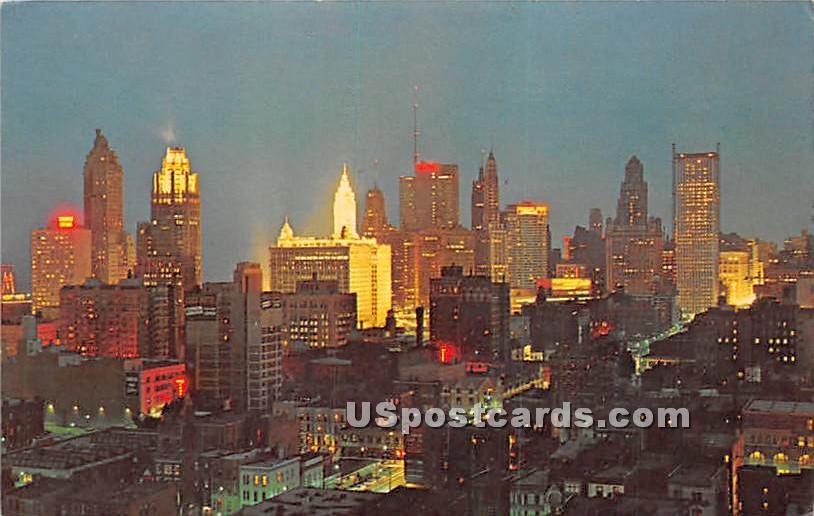 Chicago Loop - Illinois IL Postcard