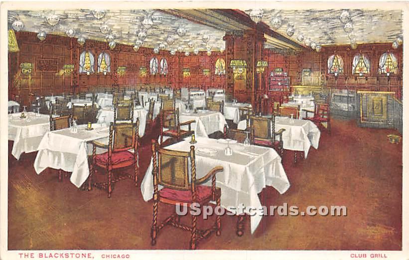 The Blackstone - Chicago, Illinois IL Postcard