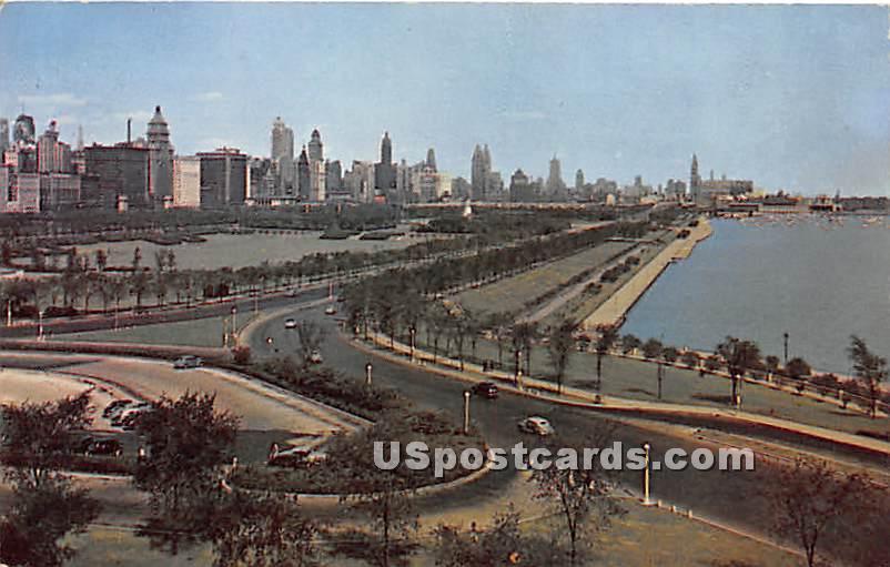 Lakefront - Chicago, Illinois IL Postcard