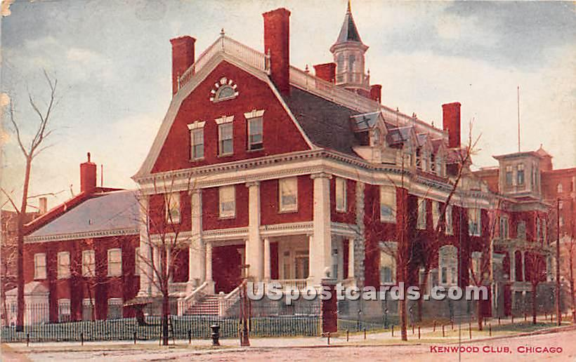 Kenwood Club - Chicago, Illinois IL Postcard
