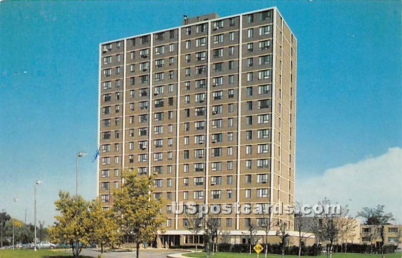 Golden Years' Plaza - DeKalb, Illinois IL Postcard