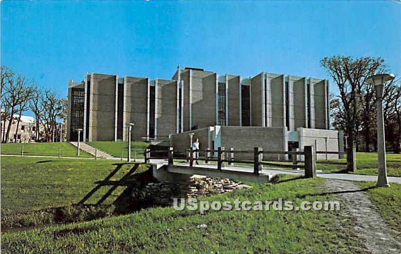 Northern Illinois University - DeKalb Postcard
