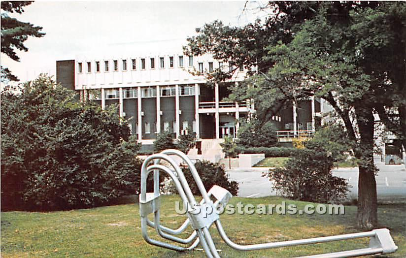 Visual Arts Building, Northern Illinois University - DeKalb Postcard