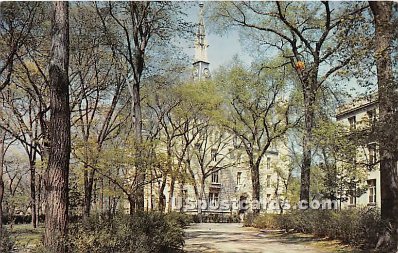 University Hall, Northwestern University - Evanston, Illinois IL Postcard