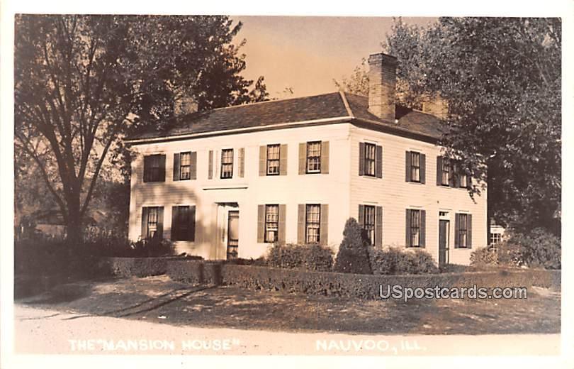 The Mansion House - Nauvoo, Illinois IL Postcard