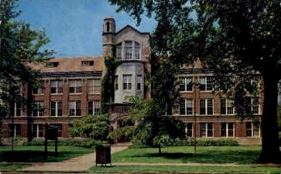National College of Education - Evanston, Illinois IL Postcard
