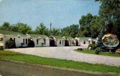 Fleck's Motel - Springfield, Illinois IL Postcard