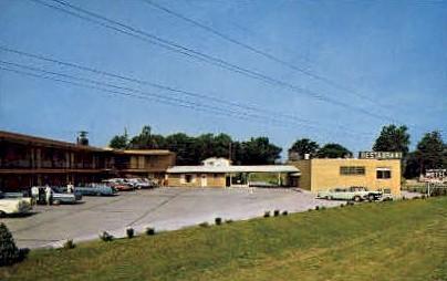 Lakeview Motel and Restaurant - Decatur, Illinois IL Postcard
