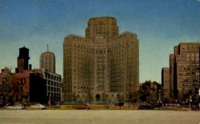 Wesley Memorial Hospital - Evanston, Illinois IL Postcard